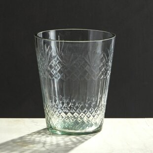 Cylinder Clear Glass Table Vase