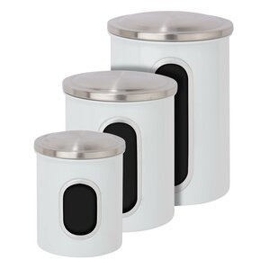 High Quality 3 Piece Kitchen Canister Set