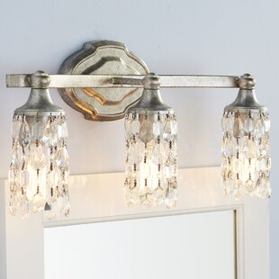 Read Reviews Destrey Modern 3-Light Vanity Light By Willa Arlo Interiors