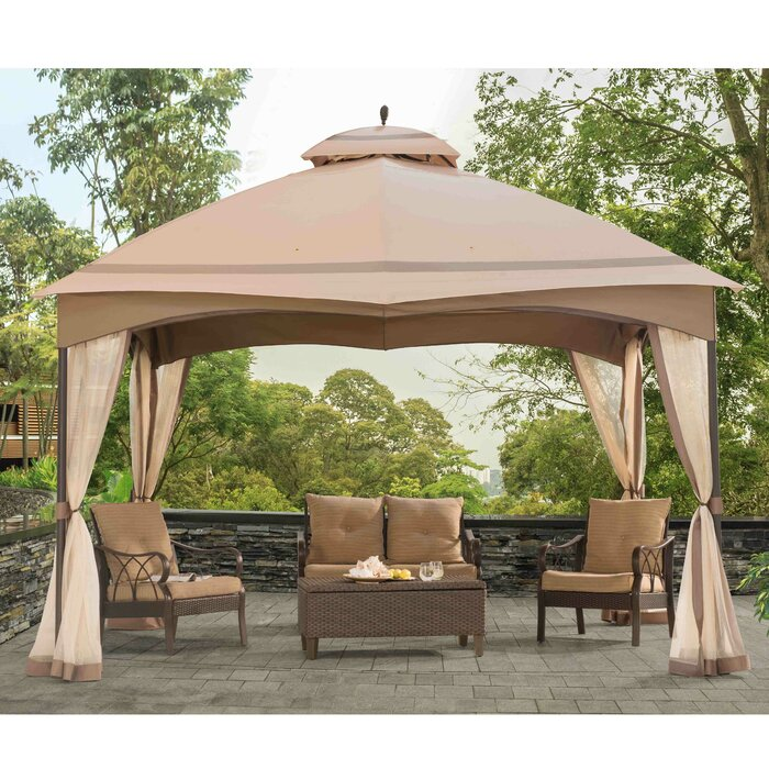 Replacement Mosquito Netting For Bellagio Gazebo