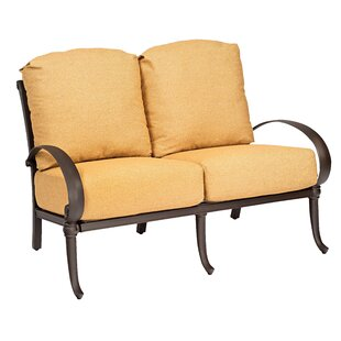 Holland Loveseat With Cushions by Woodard Best Design