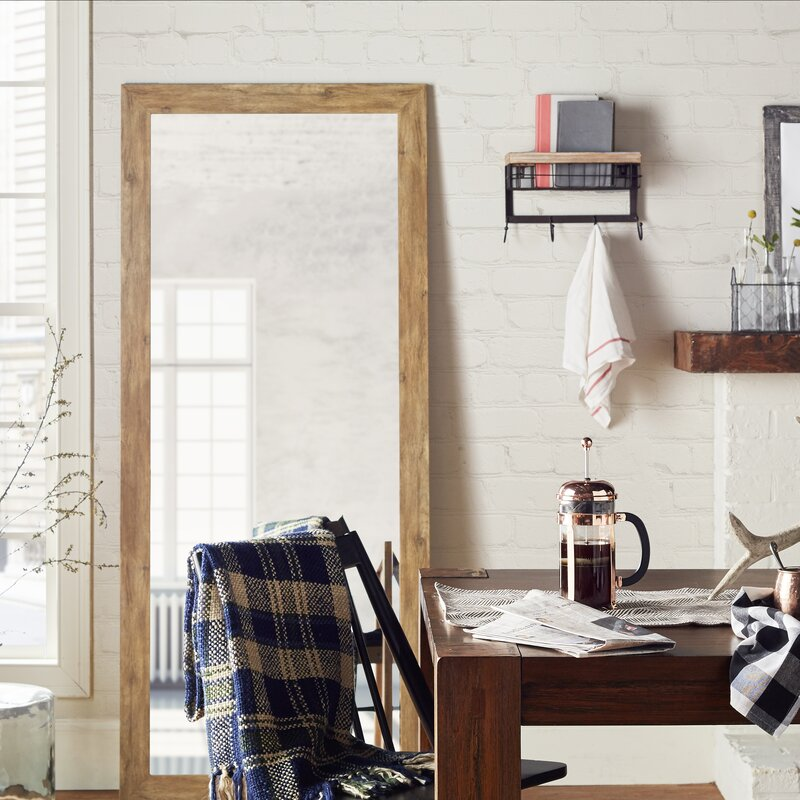 August Grove Extra Tall Floor Mirror & Reviews   Wayfair