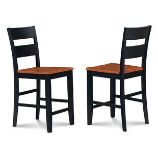 Charlestown Swivel Bar Stool (Set of 2) Alcott Hill