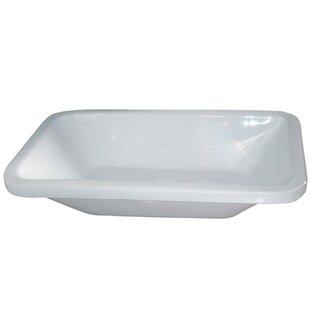 Barclay Vitreous China Rectangular Vessel Bathroom Sink
