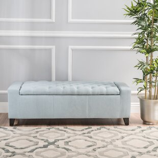 Ilchester Upholstered Storage Bench by House of Hampton