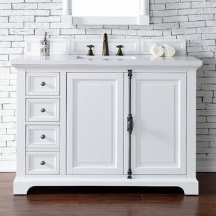 Ogallala 48 Single Cottage White Bathroom Vanity Set by Greyleigh