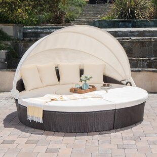 Antigua Daybed With Cushions by Rosecliff Heights Cool