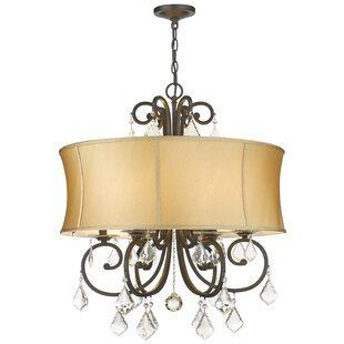 House of Hampton Freeman 6-Light Drum Chandelier