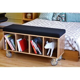 Offi Wood Storage Bench