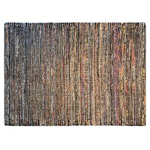 Hand Woven Black Area Rug By Am Home Textiles