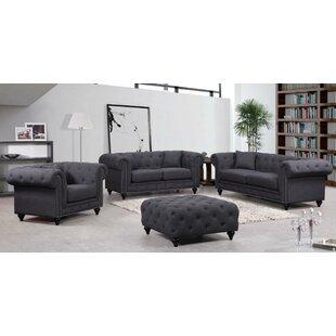 Rosdorf Park Garrett Configurable Living Room Set