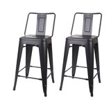 Mccurley Middle Back 24 Bar Stool (Set of 2) by Wrought Studio™