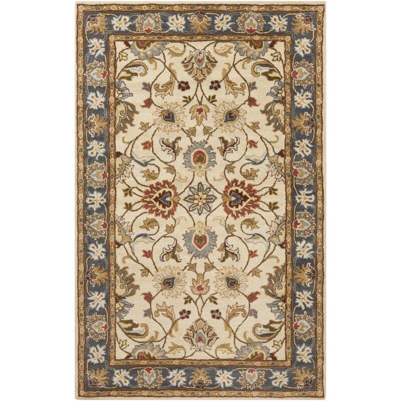 Burleson Oriental Handmade Tufted Wool Multicolor Area Rug Reviews Birch Lane