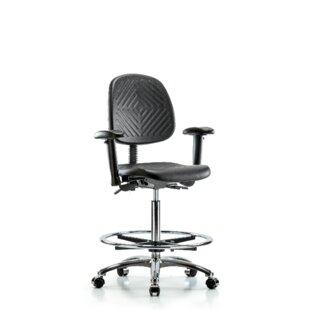 Damaris Drafting Chair by Symple Stuff