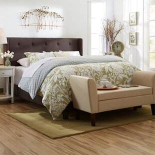 Gallaher Queen Upholstered Panel Bed by Three Posts Best