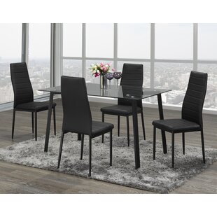 Splendora 5 Piece Dining Set Orren Ellis