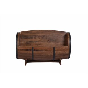 Wakefield Wood Storage Bench by Fleur De Lis Living