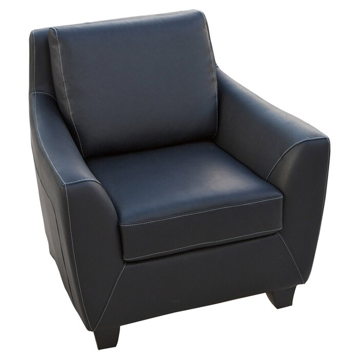Konz Bonded Leather Armchair