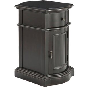 Hiltonia Petite 1 Door and 1 Drawer Accent Cabinet by Charlton Home
