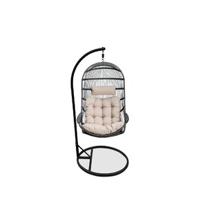 Matranga Hanging Basket Swing Chair with Stand by Bungalow Rose