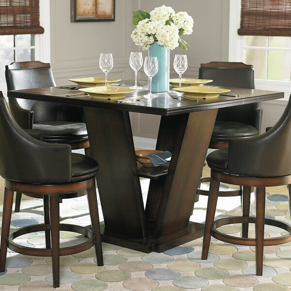 Three Posts Allenville Counter Height Dining Table | Wayfair