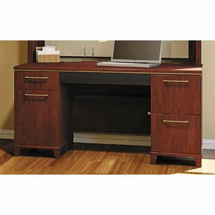 Enterprise Double Pedestal Office Executive Desk by Bush Business Furniture