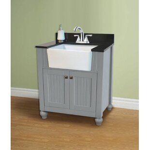 find the perfect farmhouse bathroom vanities wayfair rh wayfair com  farmers sink bathroom vanity
