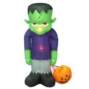 halloween inflatable frankenstein decoration - Halloween Inflatables Clearance
