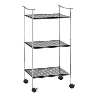 Wenko Inc 3 Tier Bar Cart