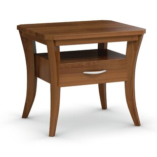 Cosmo End Table With Drawer by Caravel Great Reviews