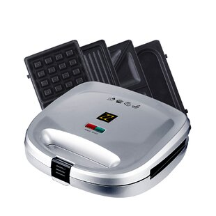 4 in 1 Breakfast Waffle Omelette and Sandwich Maker