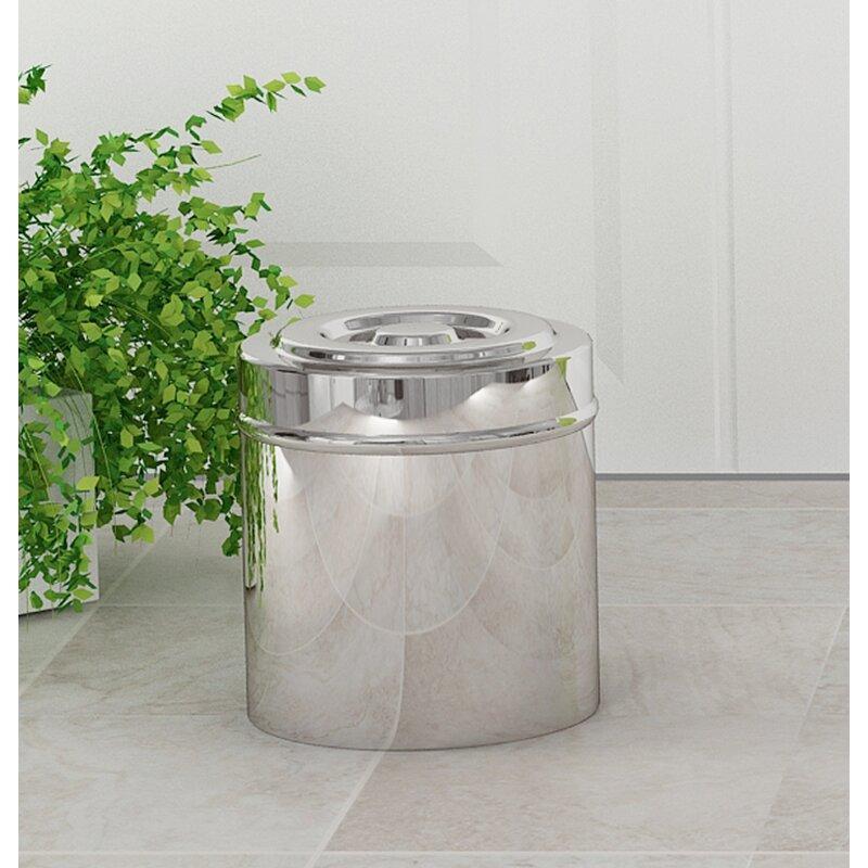 Ebern Designs Keenum Swab Bathroom Storage Container Reviews Wayfair