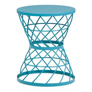 Kendari Metal End Table by Ebern Designs