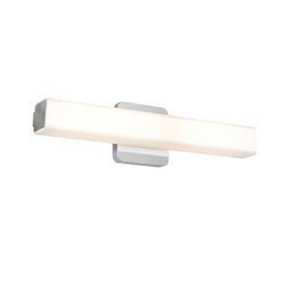 18 inch  Square Lens 1-Light LED Bath Bar