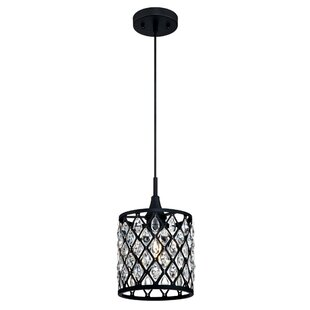 House of Hampton Leavitt 1-Light Drum Pendant