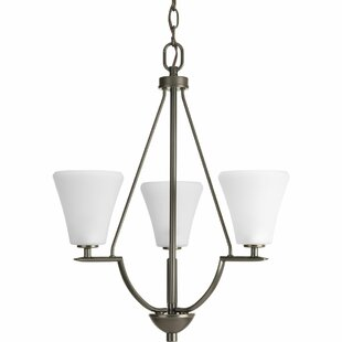 Karla 3-Light Shaded Chandelier by Fleur De Lis Living