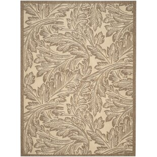 Amaryllis Natural/Brown Indoor/Outdoor Area Rug