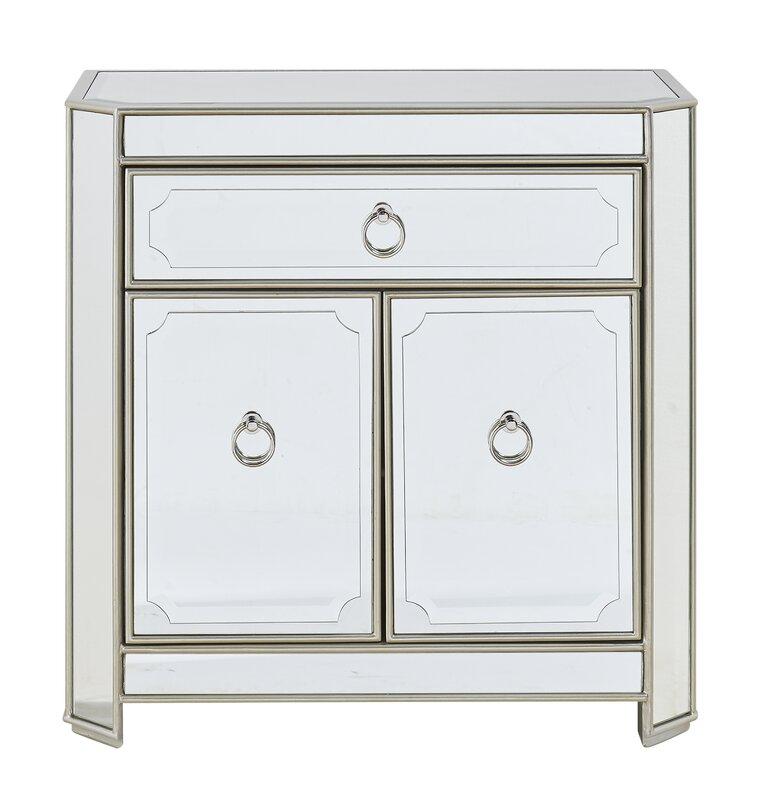 Willa Arlo Interiors Lecia 1 Drawer 2 Door Cabinet & Reviews | Wayfair
