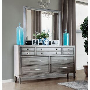Saratoga 7 Drawer Dresser with Mirror