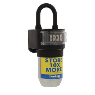 WordlockInc Stor-more Key Diversion Safe with Dial Lock