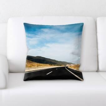 World Menagerie Arlie Geometry Cotton Throw Pillow Cover Wayfair