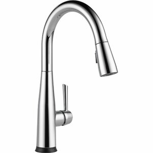 Essa Pull Down Touch Single Handle Kitchen Faucet with LED Light and MagnaTiteu00ae Docking and Touch2Ou00ae technology