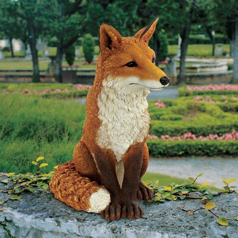 Beautiful Simon The Fox Garden Statue
