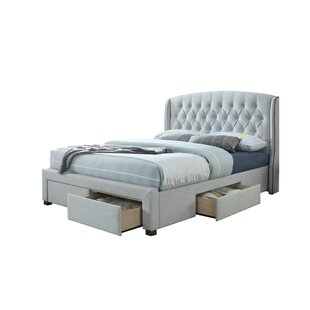 Raleigh King Upholstered Storage Platform Bed
