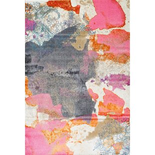 Tipton Pink Area Rug by Wrought Studio