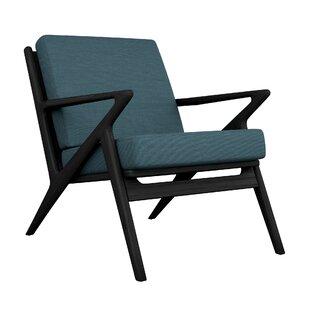 Buffington Oxford Weave Lounge Chair by Corrigan Studio