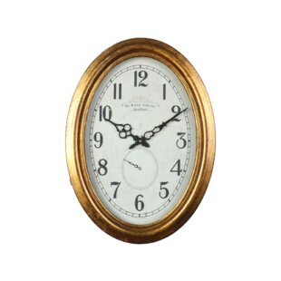 Darwen Gold Wall Clock