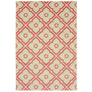 Fluellen Pink/Beige Indoor/Outdoor Area Rug
