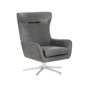 Club Swivel Lounge Chair by Sunpan Modern