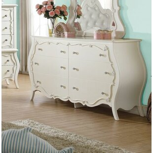 Harriet Bee Eddins 6 Drawer Double Dresser